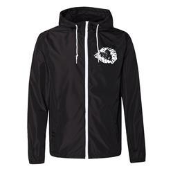 Heart Black w/ White Zipper Jacket - $40