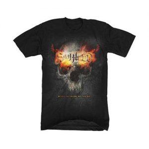 Skull Flames T-Shirt - $12