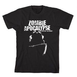 Zombie Apocalypse Reaper T-Shirt - $12